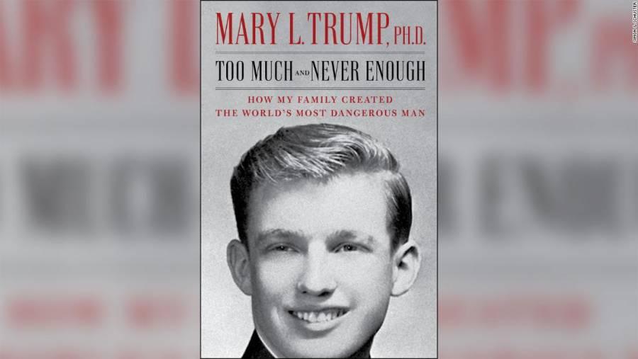 Adelantan publicación del libro de la sobrina de Donald Trump