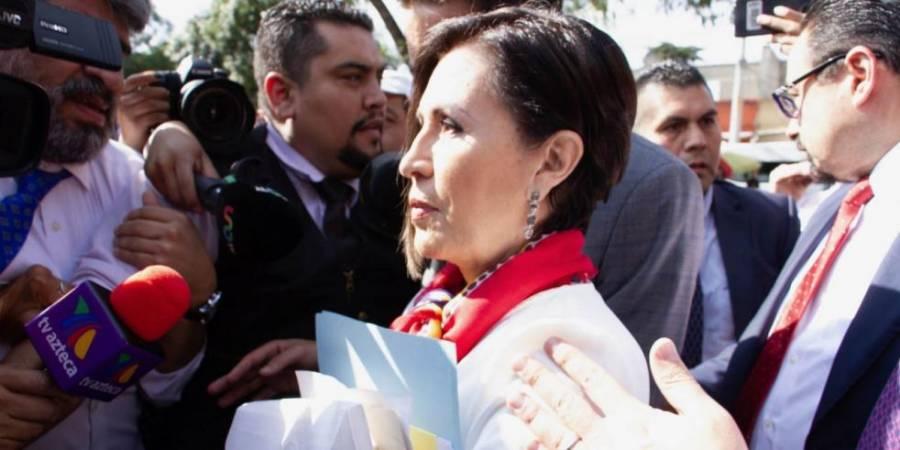 Rosario Robles se dice trofeo que exhibir en combate a la corrupción