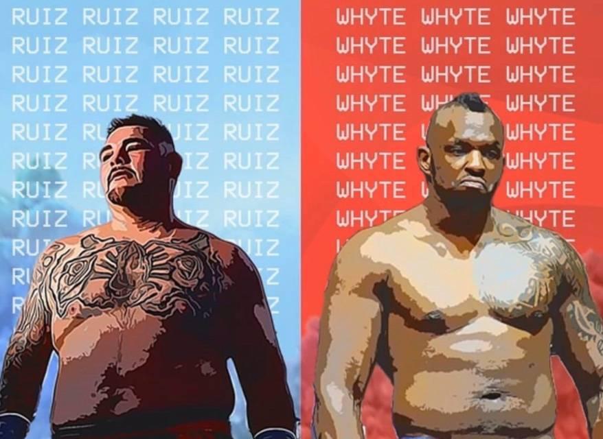 """Andy Ruiz reta a Dillian Whyte, y este lo llama """"gordo"""""""