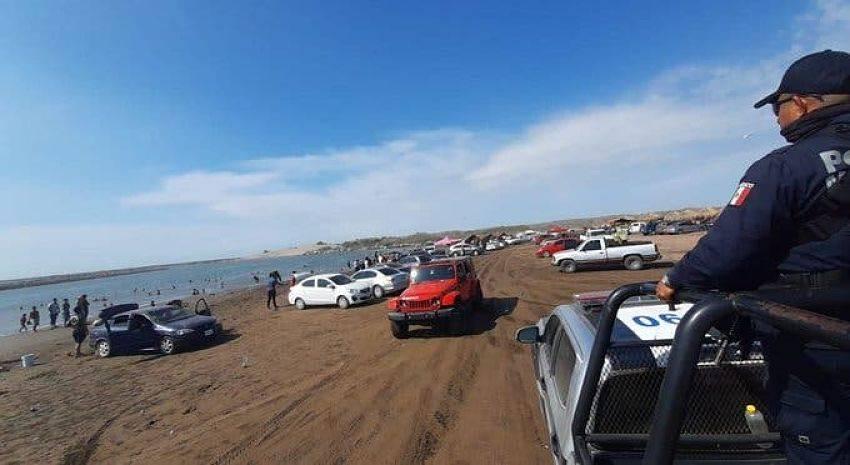 Sin medidas de prevención se aglomeran playas de Guasave [Video]