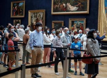 Museo del Louvre reabre tras permanecer cerrado casi cuatro meses por Covid-19