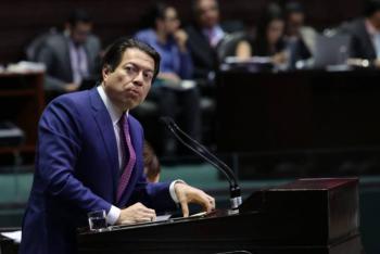 Mario Delgado solicita no politizar reunión de AMLO con Trump
