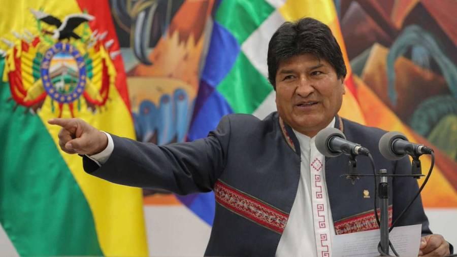Pide Fiscalía de Bolivia prisión preventiva de Evo Morales