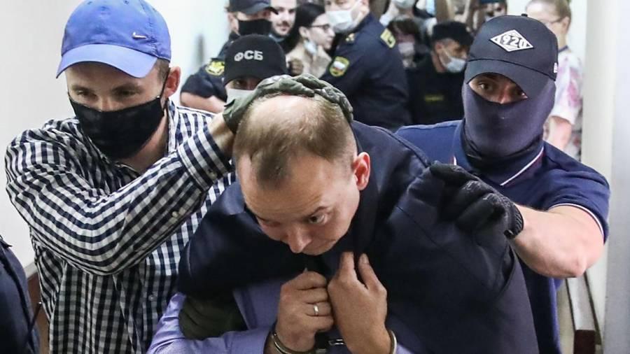 Arrestan a periodista en Rusia, acusado de espiar para Occidente