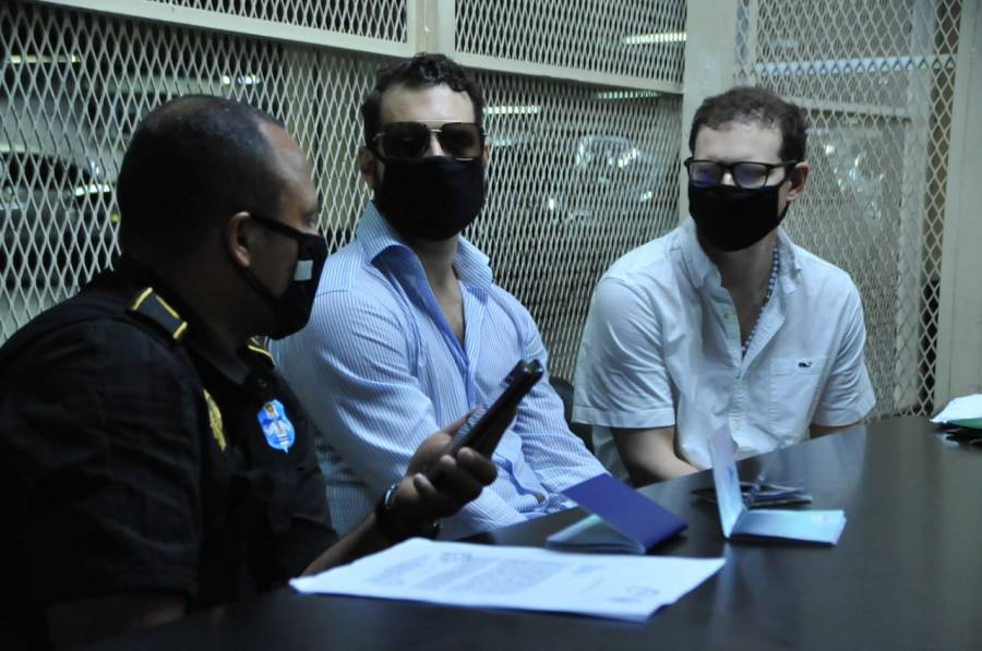 Arrestan a hijos de Martinelli en Guatemala