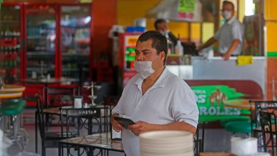 Restaurantes con ventas bajas en primer fin de semana de la 'nueva normalidad'
