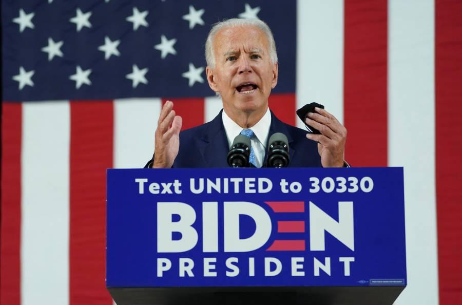Biden reincorporará a EU a la OMS sí gana la presidencia