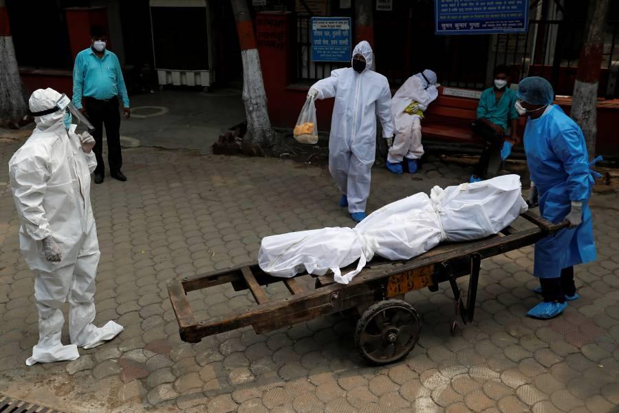 India, el tercer país en el mundo con más casos de Covid