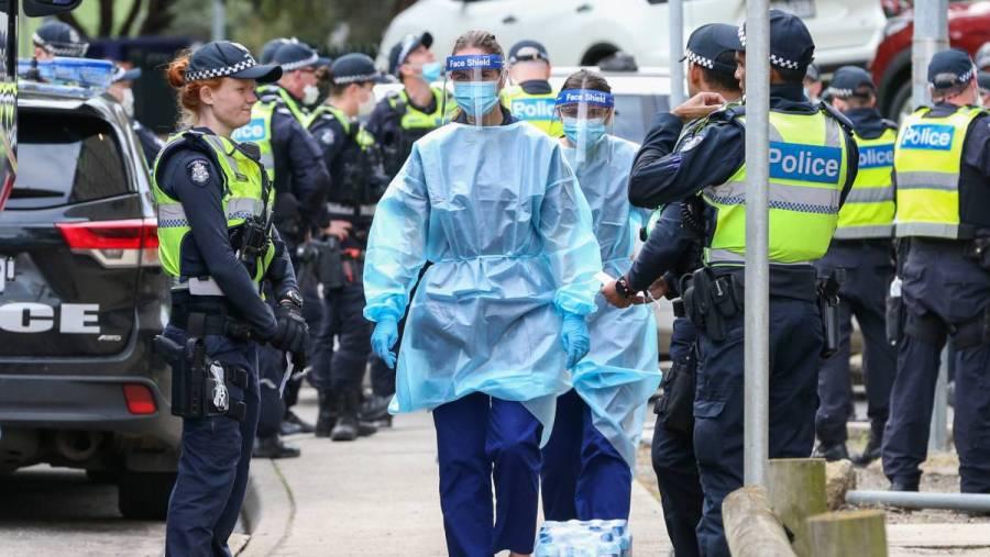 Por rebrote de Covid-19, Australia entra en confinamiento por 6 semanas