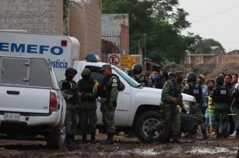 """Buscaban a """"El Muletas"""" y ello fue el motivo de la matanza en Irapuato"""
