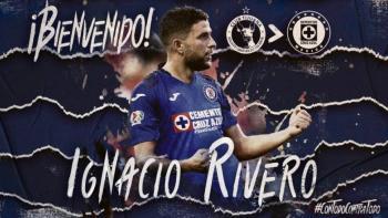Cruz Azul anuncia el fichaje de Ignacio Rivero