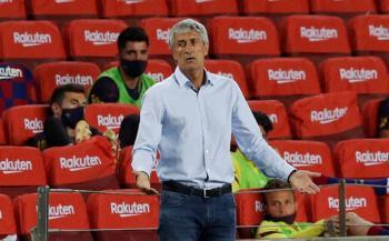 Setién seguirá al frente del Barca, que no lamenta haber despedido a Valverde