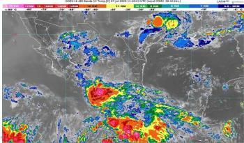 'Cristina' causará fuertes precipitaciones en Guerrero