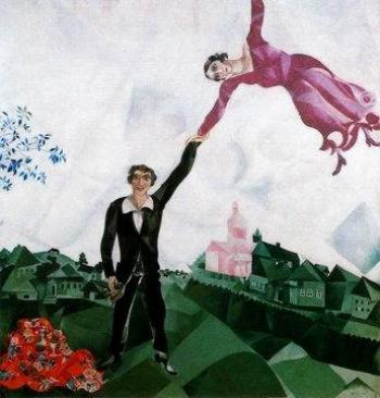 Como un cuadro del viejo Chagall