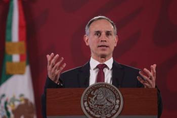 Descenso progresivo de epidemia en CDMX desde hace 15 días: López-Gatell