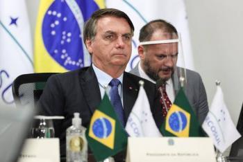 "Casa Blanca desea ""rápida recuperación"" a Bolsonaro tras dar positivo a Covid-19"