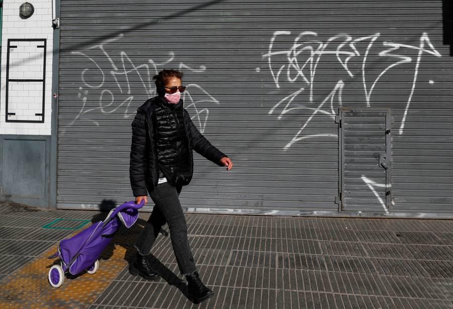 Argentina registra récord diario de más de 3 mil contagios por Covid-19