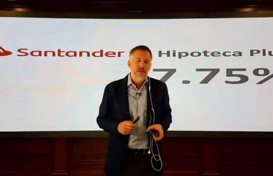 Santander lanza hipotecas con solo 7.75% de interés