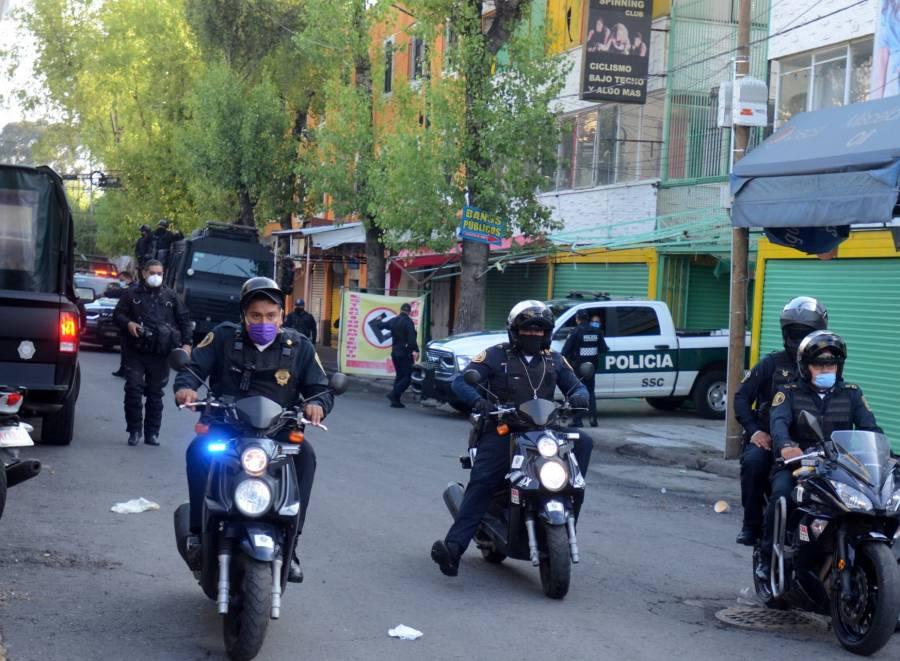 Seis personas son detenidas por narcomenudeo en tres alcaldías de la CDMX