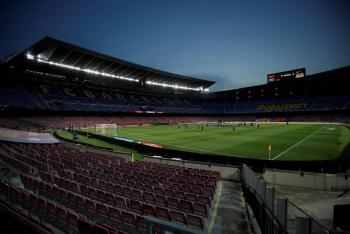 Constructoras españolas compiten por remodelación del Camp Nou