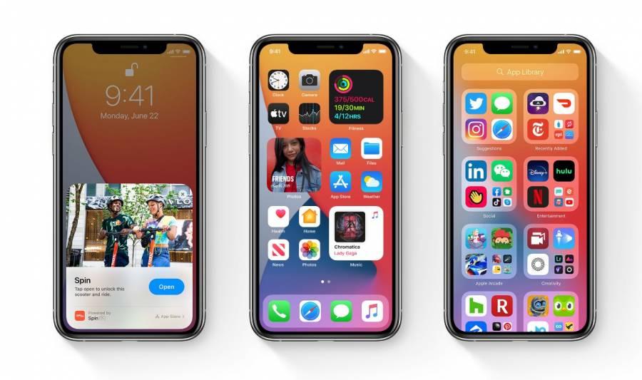 Apple lanza versión de prueba de iOS 14