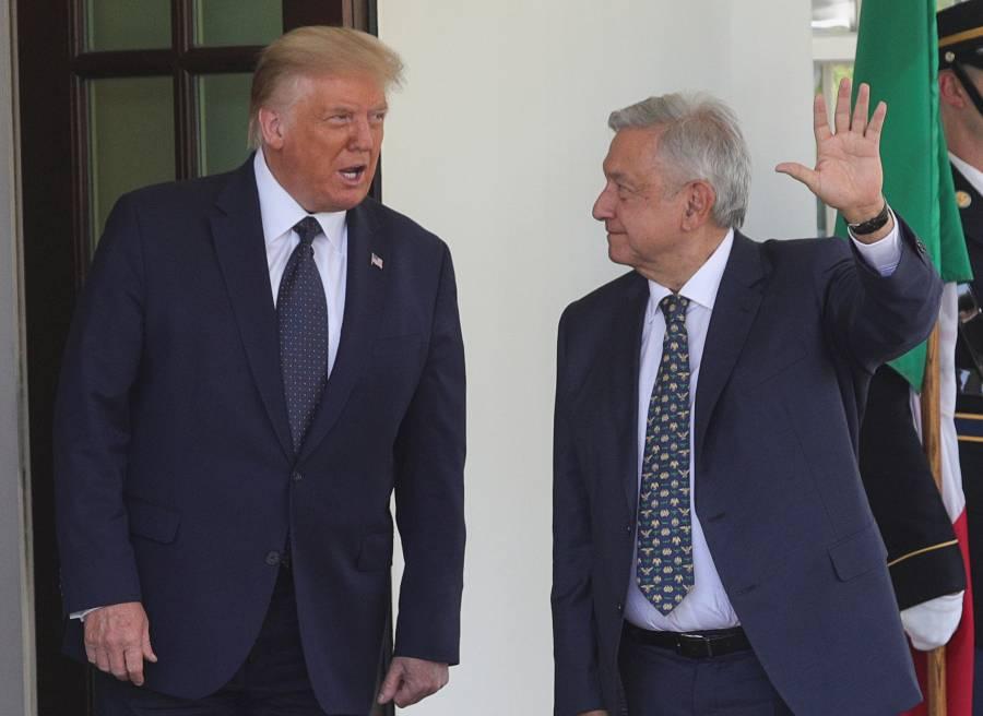 AMLO no invito a Trump a México, debido al proceso electoral en EU