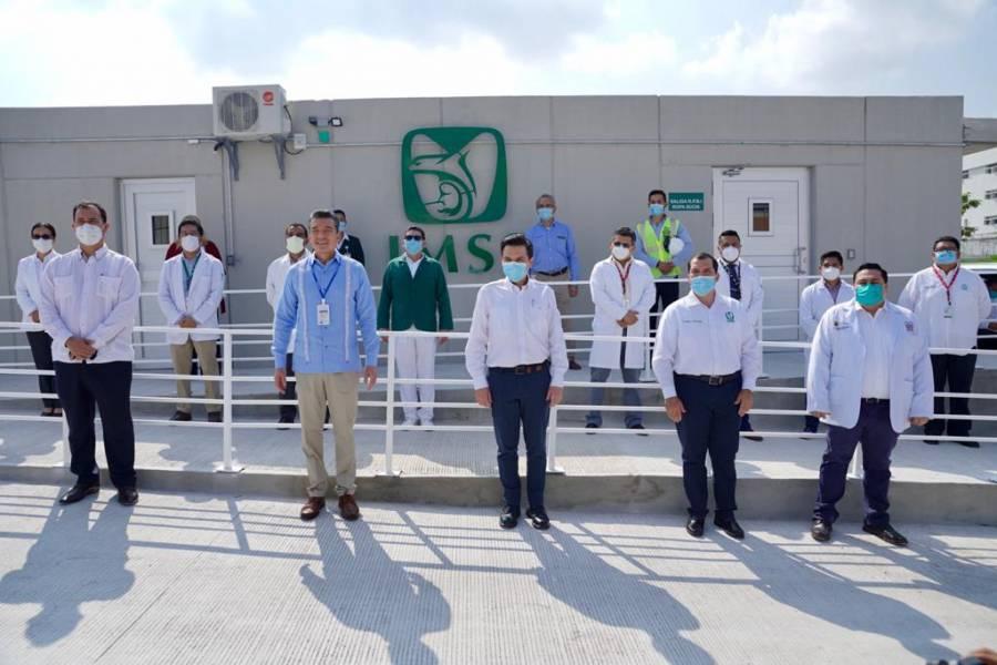 Habilitan módulo Covid en Tuxtla Gutiérrez para desahogar hospitales