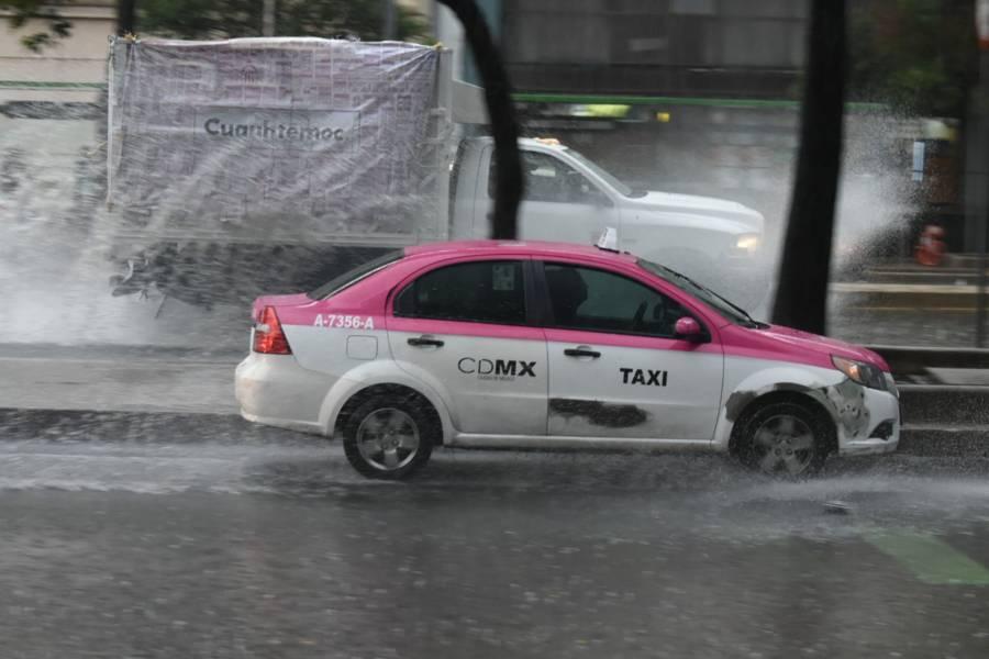 Alerta Amarilla en nueve alcaldías de la CDMX por lluvia y granizo