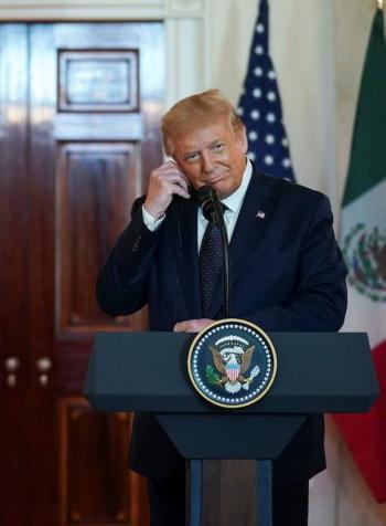 La relación con México nunca ha sido tan fuerte: Trump