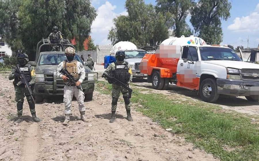 Sedena y GN Aseguran huachigas en Puebla y Estado de México