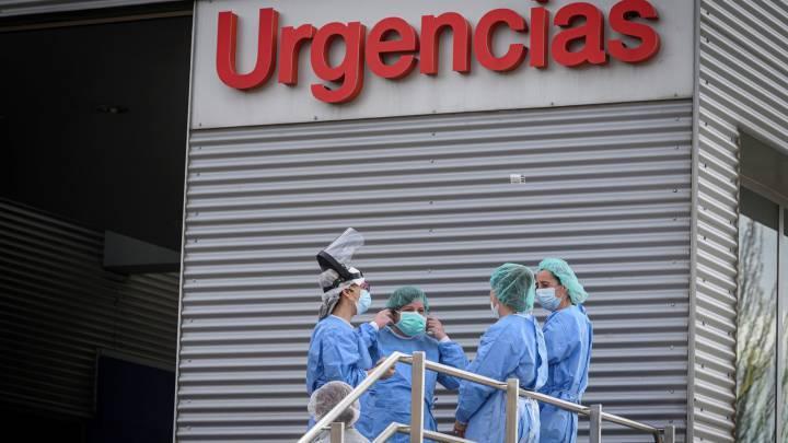 España repite curva de contagios de marzo