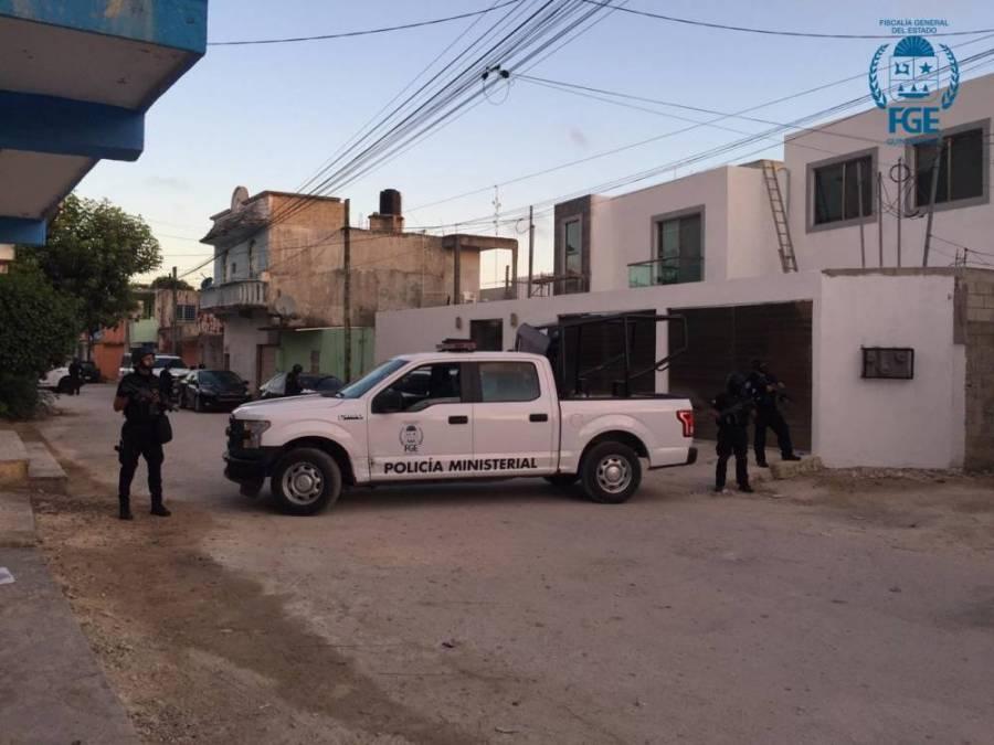 FGE de Quintana Roo catea casa en Benito Juarez por feminicidio