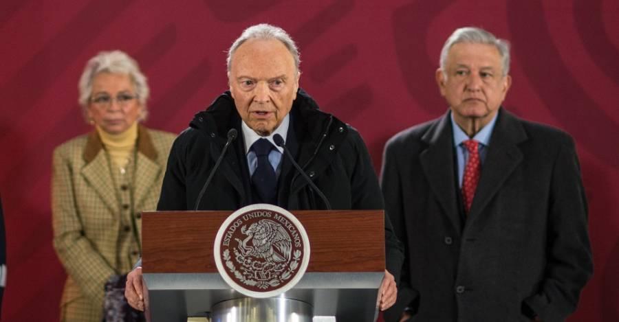 Gertz Manero critica que UIF realice 'funciones de autoridad'
