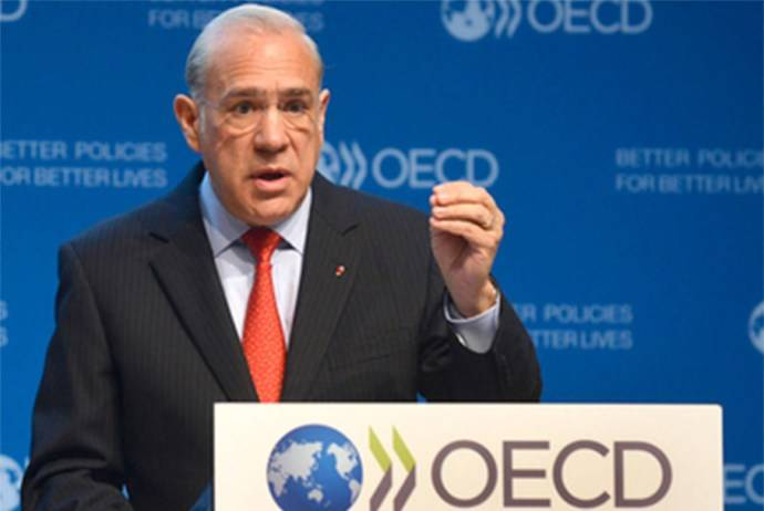 Titular de la OCDE dejará cargo en junio 2021