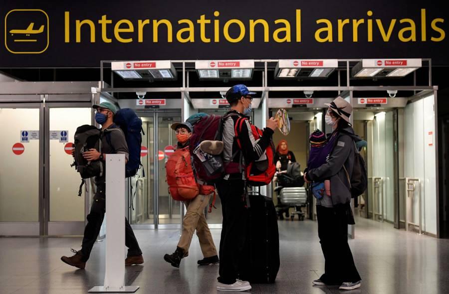Reino Unido pone fin a la cuarentena para los viajeros de muchos países