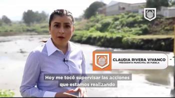 Retiran 600 toneladas de basura en ríos y barrancas de Puebla