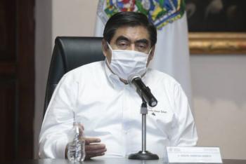 Barbosa anuncia plan de infraestructura en Puebla por Covid