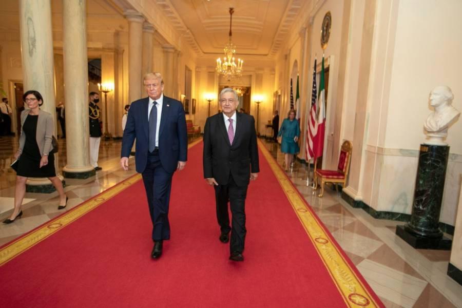 López Obrador reitera que fue exitosa su reunión con Trump en EE UU