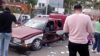 En Oaxaca, se da balacera de taxistas para impedir una detención
