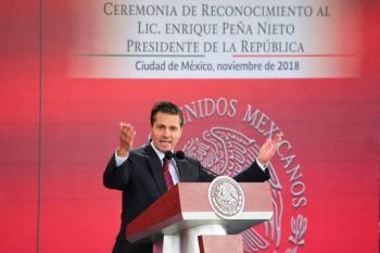 Gobierno denunciará a Peña Nieto si aparece en tramas de corrupción: UIF