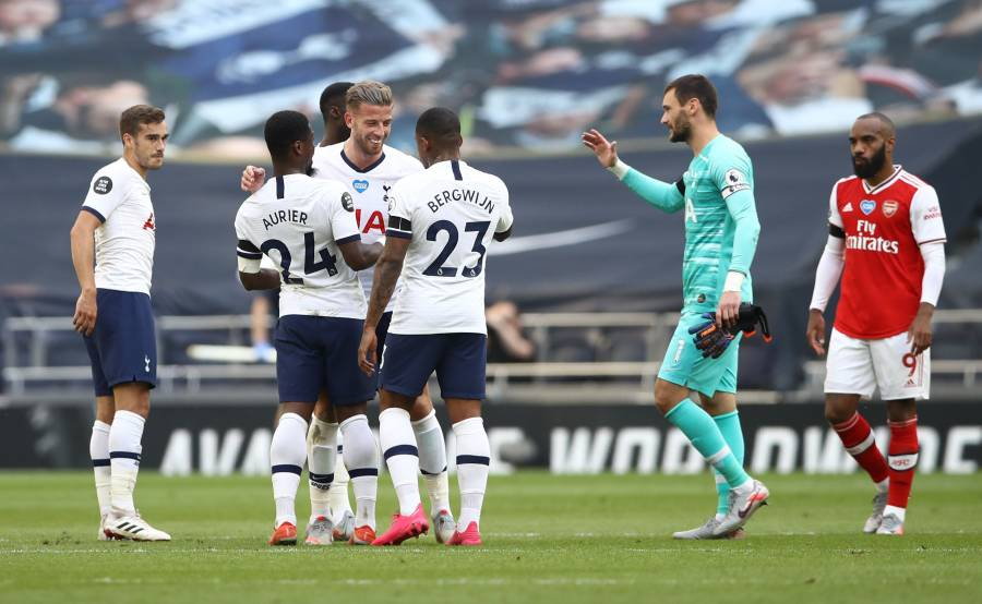 Tottenham se lleva el derbi de Londres