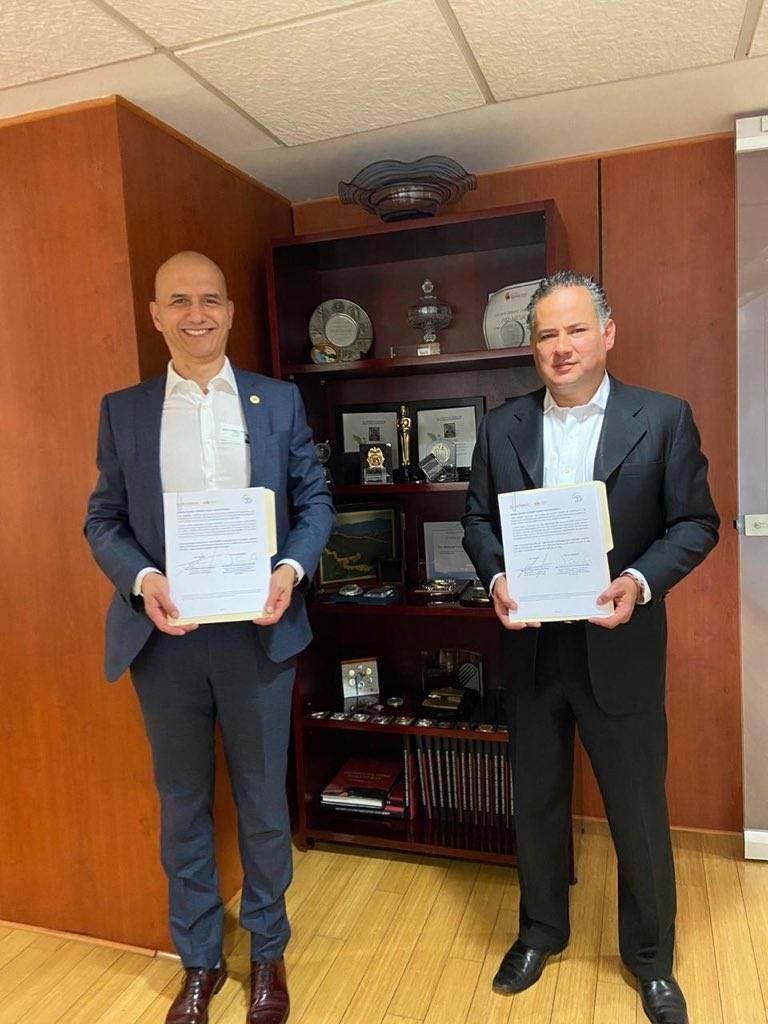 Para frenar trata de personas, firman convenio UIF y Consejo Ciudadano