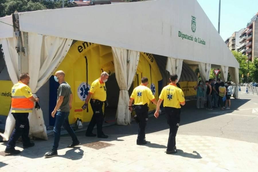 España reconfina más de 200 mil personas por un rebrote de coronavirus