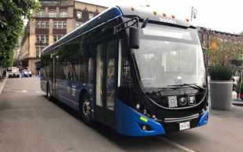 Resalta Sheinbaum adquisición de autobuses y trolebuses para CDMX