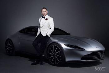 Para nuevas misiones, listo el Aston Martin de James Bond