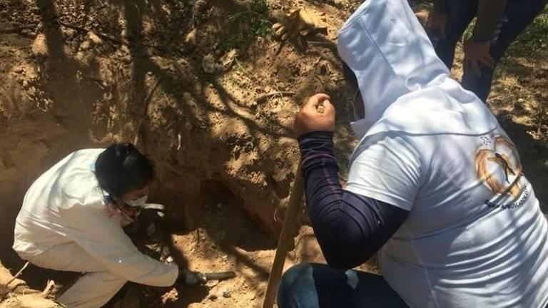 El 57% de fosas clandestinas se encuentran en Veracruz, Sinaloa, Guerrero y Colima
