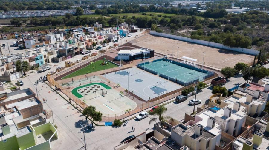 Ayuntamiento de Soledad entrega moderna área recreativa en Hacienda de San Miguel