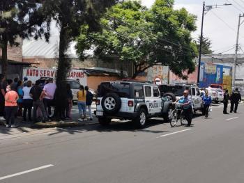 Asesinan a dos hombres en taller mecánico de la alcaldía Álvaro Obregón