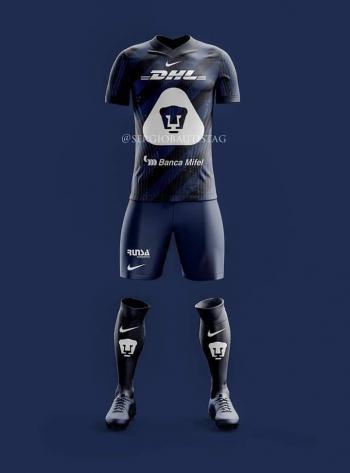 Filtran posible nueva camiseta de Pumas para el próximo torneo