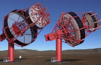 """Plataforma del telescopio """"pSCT"""", hecha en Ciudad Universitaria"""